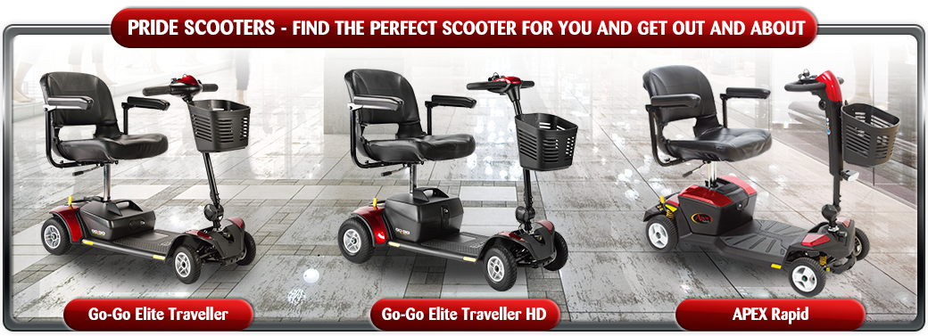 Pride Mobility Scooter Range