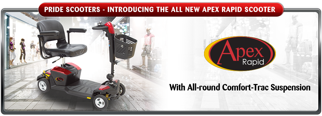 The Apex Rapid Scooter